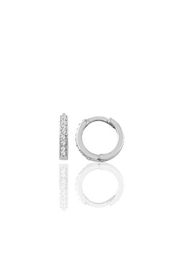 Söğütlü Silver Küpe Beyaz